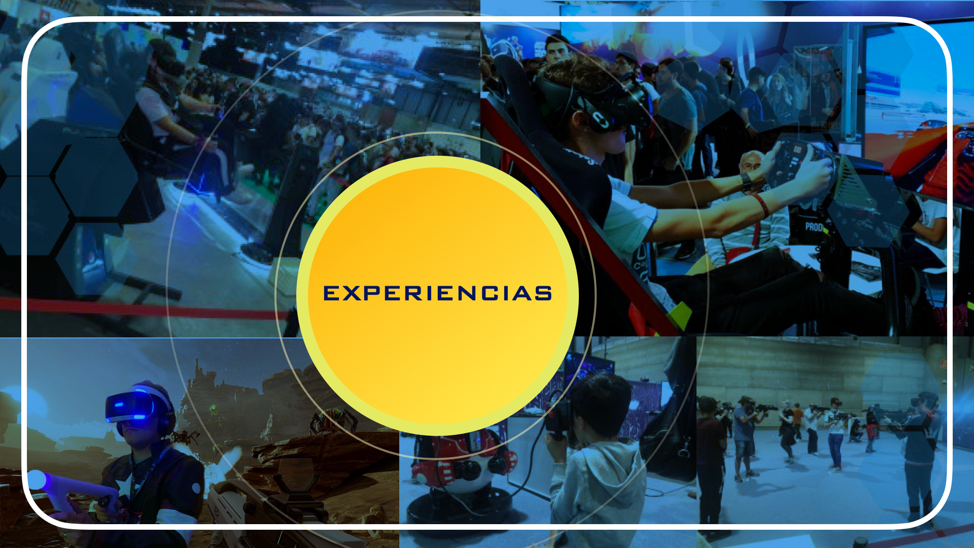 Experiencias de Realidad Virtual
