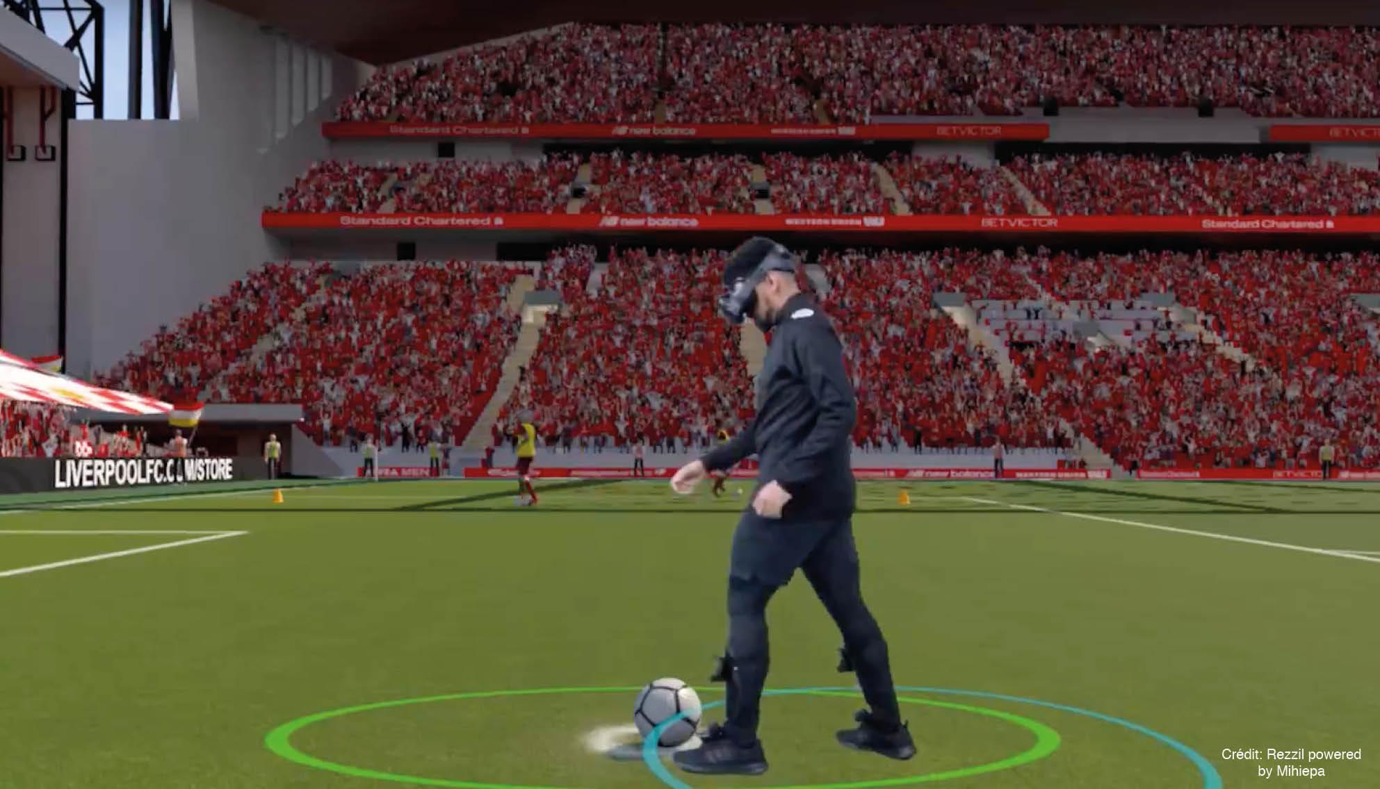 Entrenamiento Fútbol Vr
