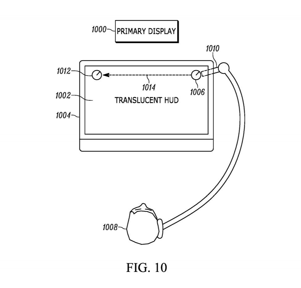Nueva patente de Sony Un visor de Realidad Aumentada