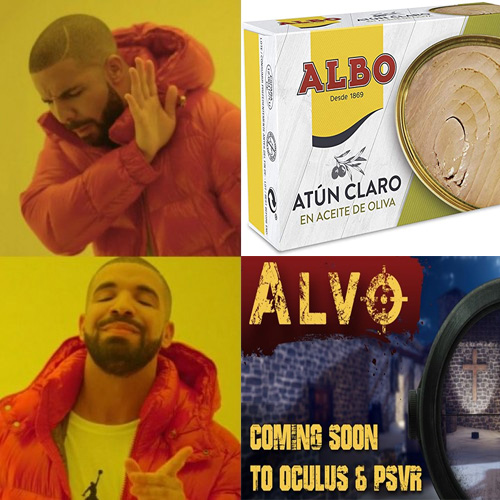 Alvo PSVR beta