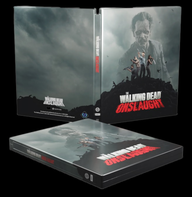 Walking Dead Onslaught steelbox