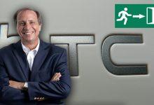 Photo of Dimite el CEO de HTC, Yves Maitre