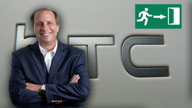 Photo of Dimite el CEO de HTC, Yves Maitre