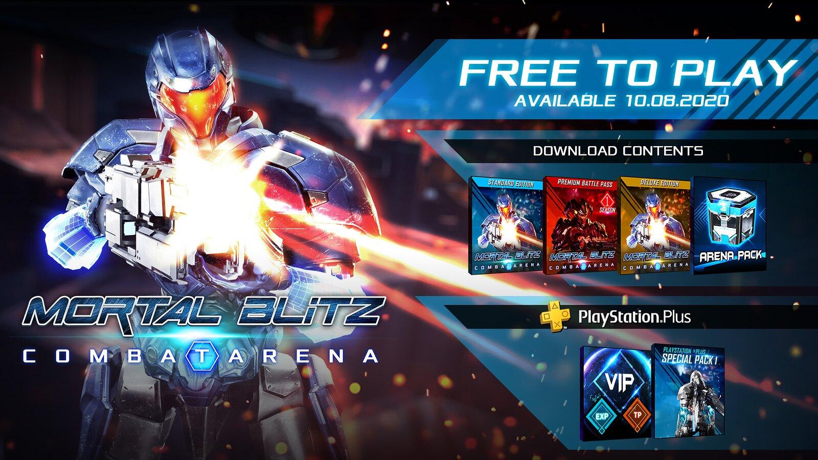 Mortal Blitz Combat Arena 8 Octubre PSVR
