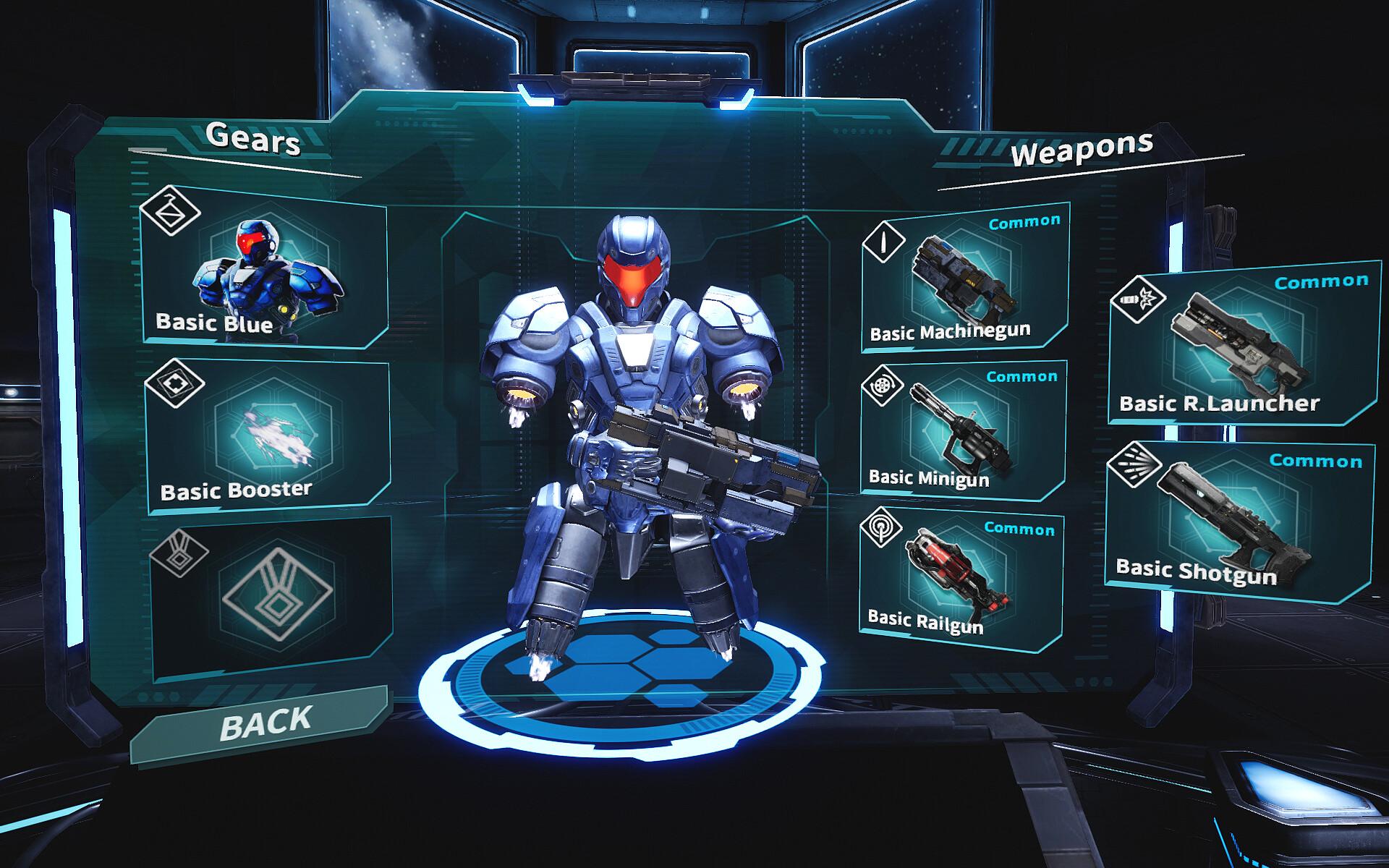Mortal Blitz Combat Arena costumization