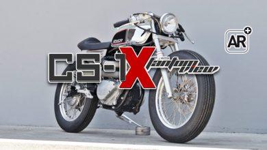 Photo of Suzuki CS-1X: La primera moto construida con AR