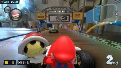 Photo of Mario Kart llega en AR a tu salón con Mario Kart Live: Home Circuit