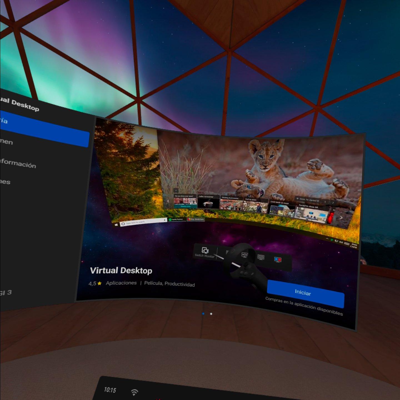 Quest 2 Virtual Desktop Launch