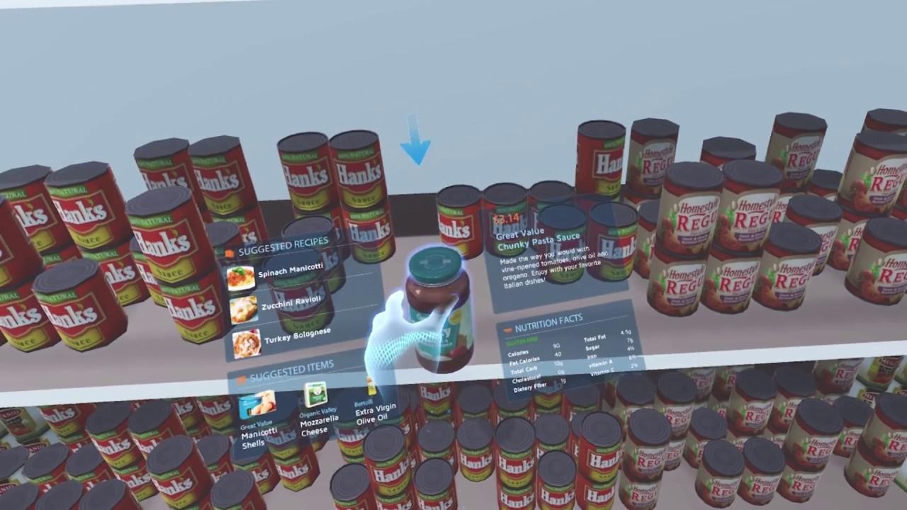 Walmart Supermercado Realidad Virtual