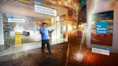 Photo of The Weather Channel y la realidad mixta