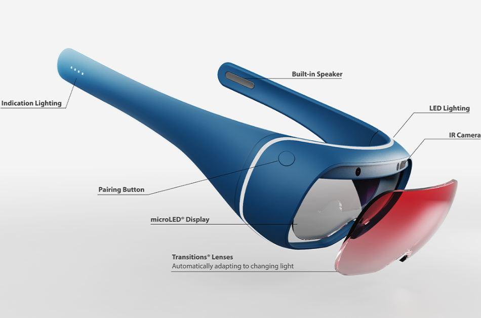 Nintendo AR Glasses James Tsai Specs