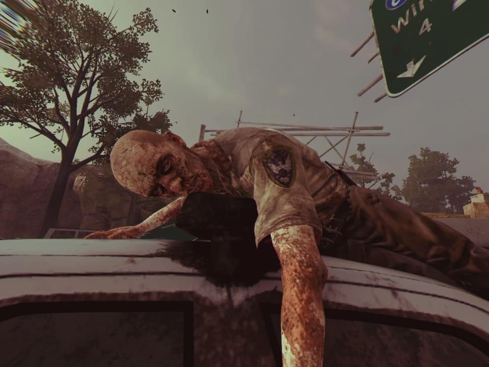 Zombie descansando