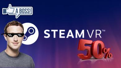 Photo of Más de la mitad de los visores de SteamVR son de Facebook