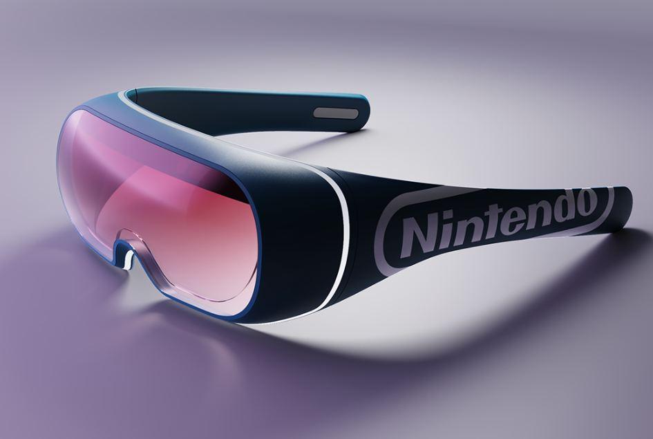 Nintendo AR Glasses James Tsai