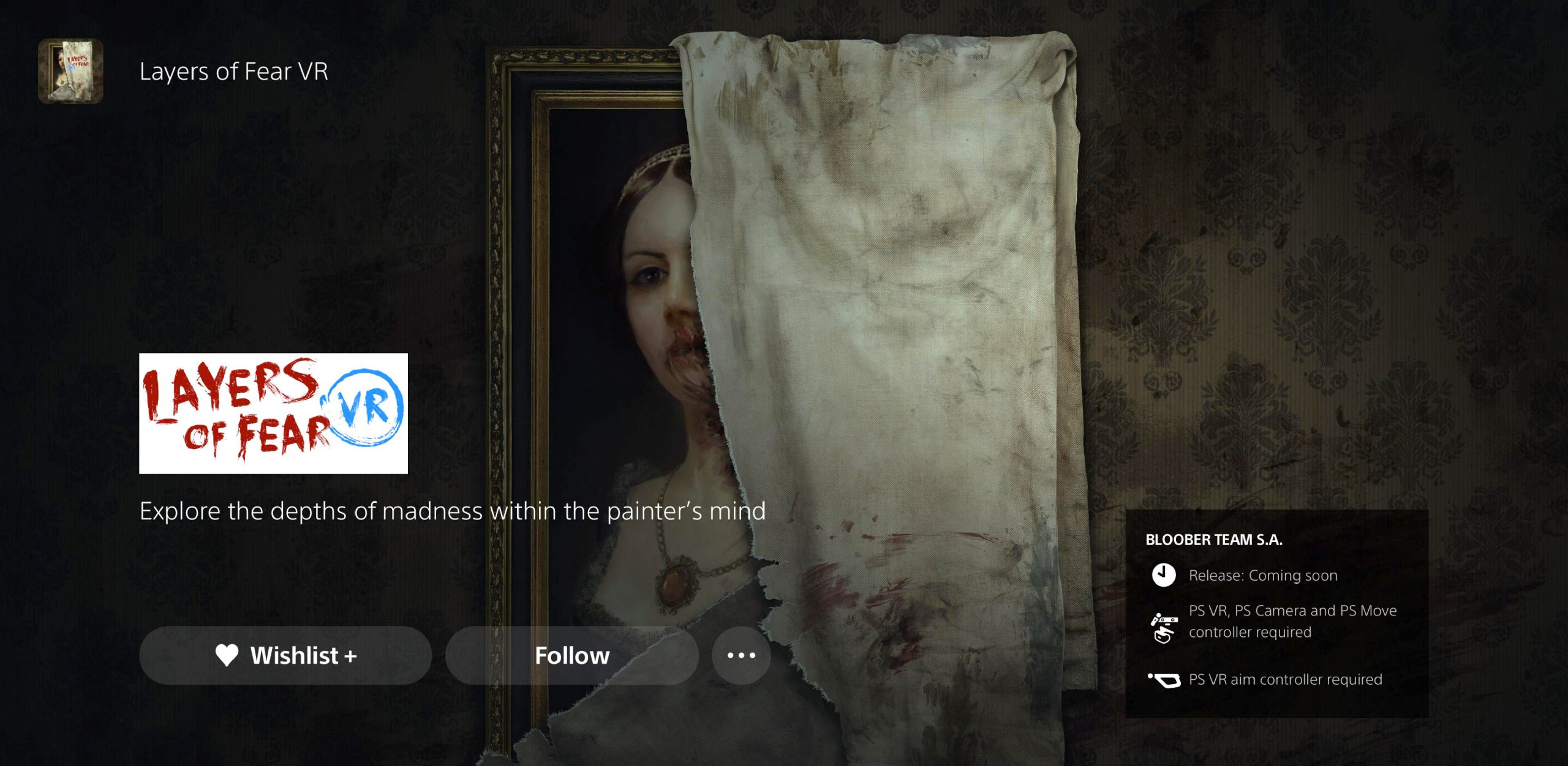 Layers of Fear VR PSVR