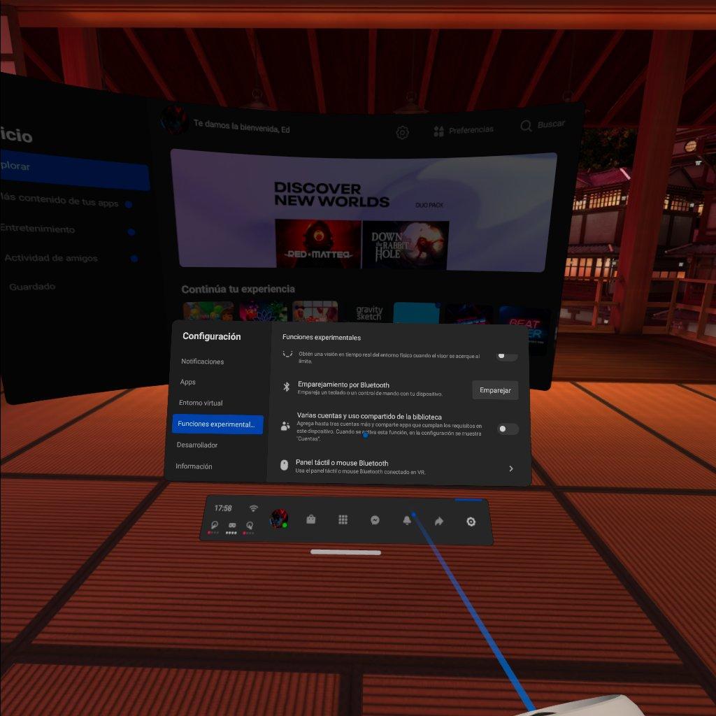 compartir aplicaciones en Oculus Quest Varias cuentas