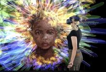 Photo of Anna Zhilyaeva, una artista que pinta usando la realidad virtual
