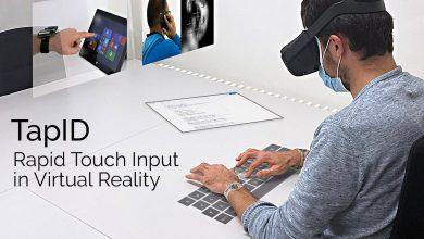 Photo of TapID la pulsera para escribir en VR