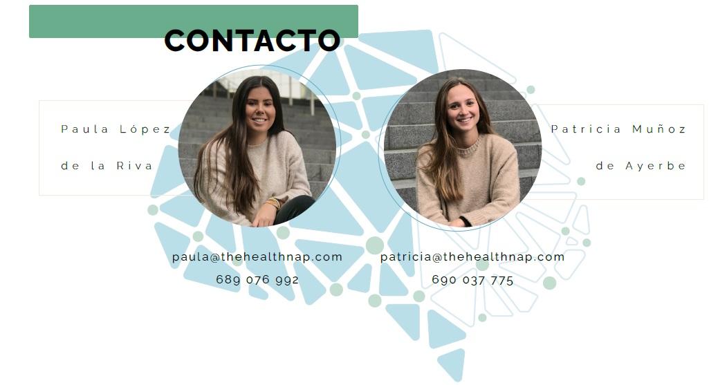 Contacto de HealthNap