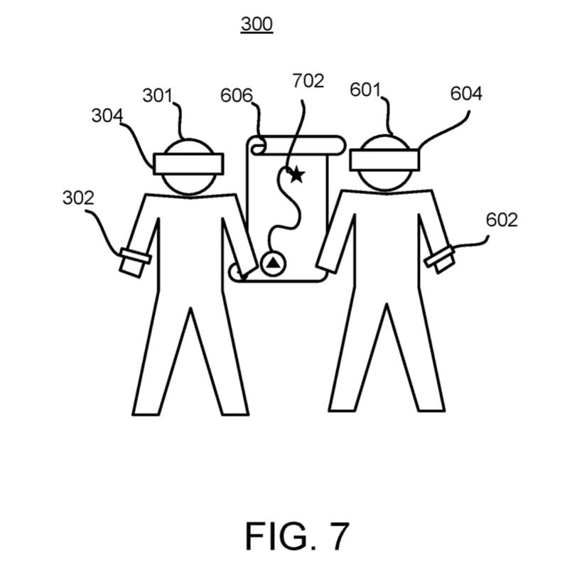 Disney skin communicator patent
