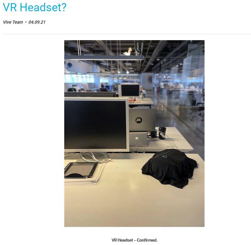 Nuevo visor HTC Vive