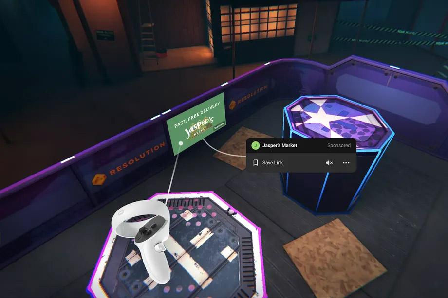 Blaston Ads Oculus Quest