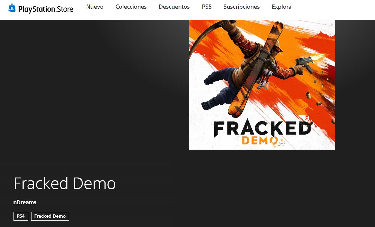 Fracked demo PSVR
