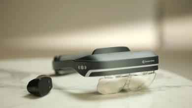Photo of Dream Glass Lead. Visor de realidad aumentada.