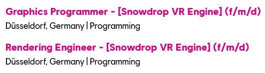 ofertas snowdrop vr